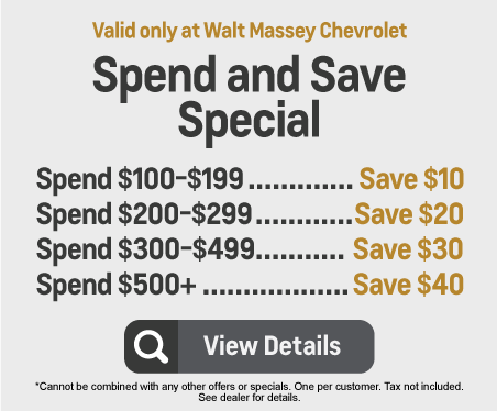 Spend and Save Special - Spend $100-$199 and Save $10