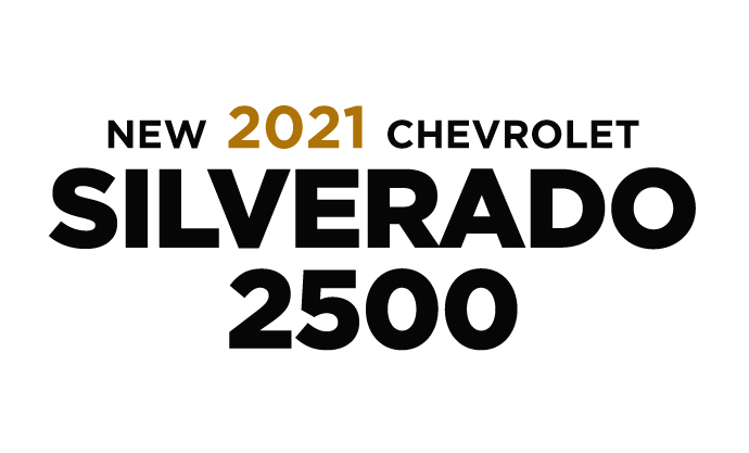 New 2021 Chevrolet Silverado 2500