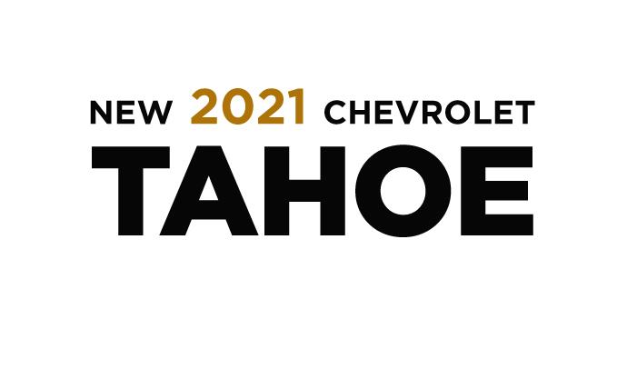New 2021 Chevrolet Tahoe