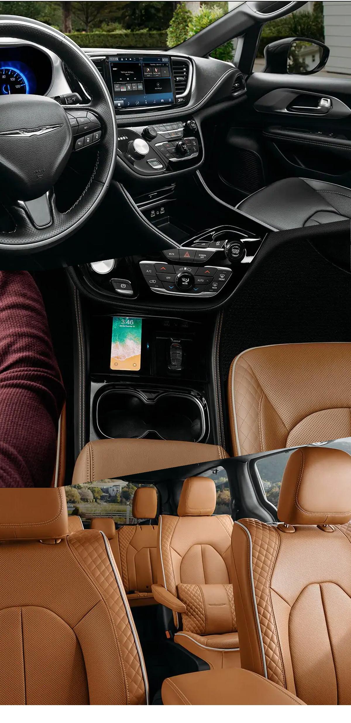 2021 Chrysler Pacifica Interior Andalusia, AL