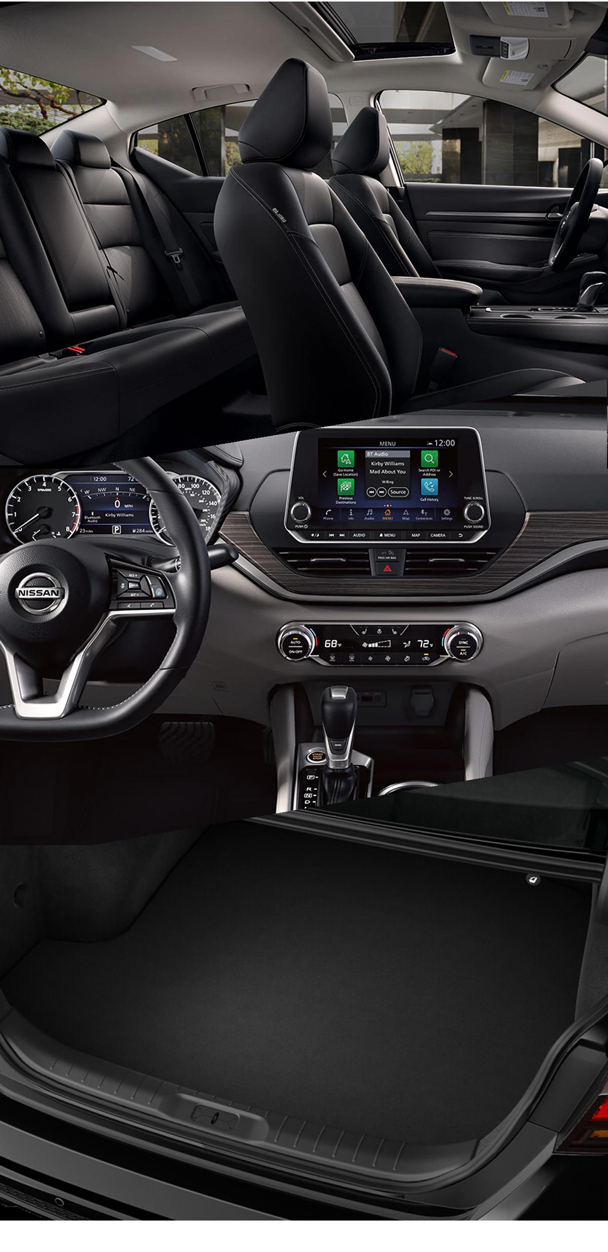 2021 Nissan Altima Interior in Andalusia, AL