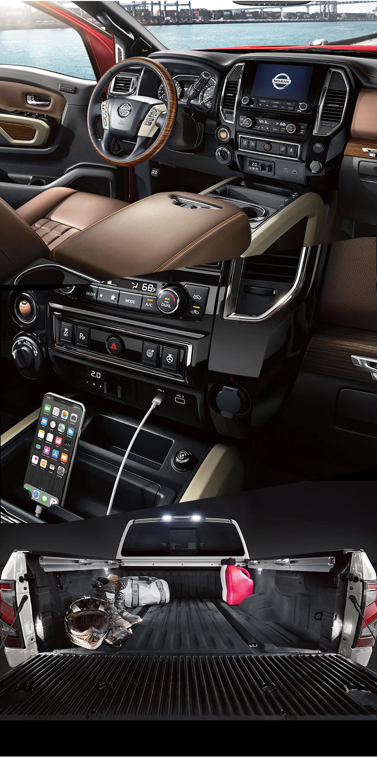2021 Nissan Titan Interior in Andalusia, AL