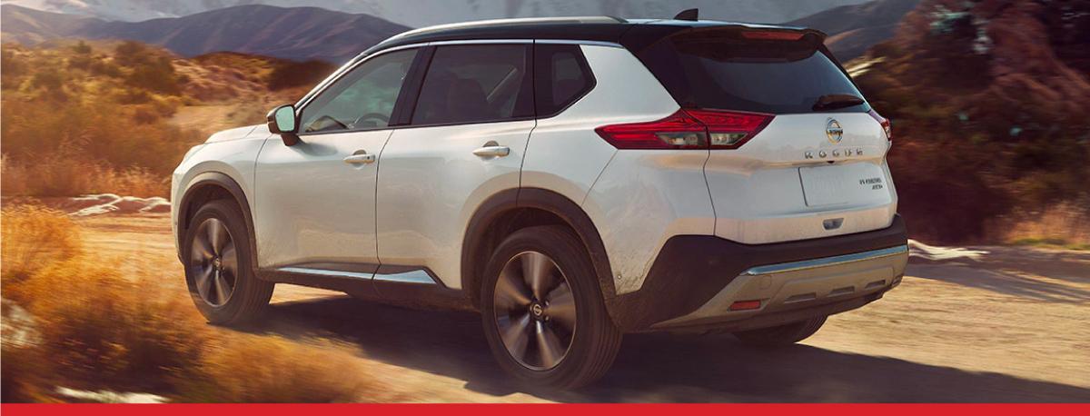 New 2021 Nissan Rogue at Walt Massey Nissan