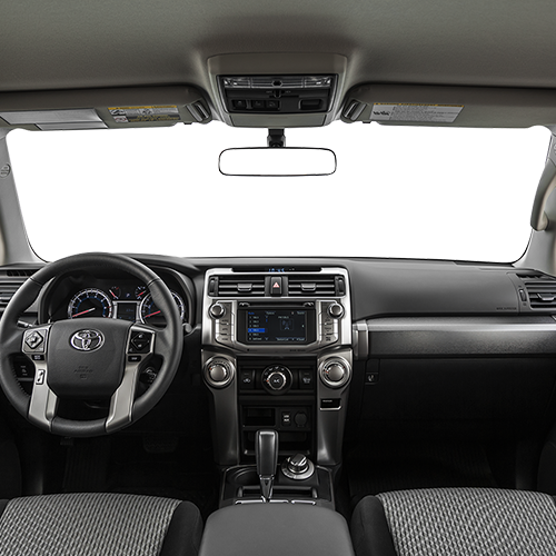 2019 Toyota 4Runner Rear Interior