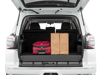 2020 4Runner Trunk space