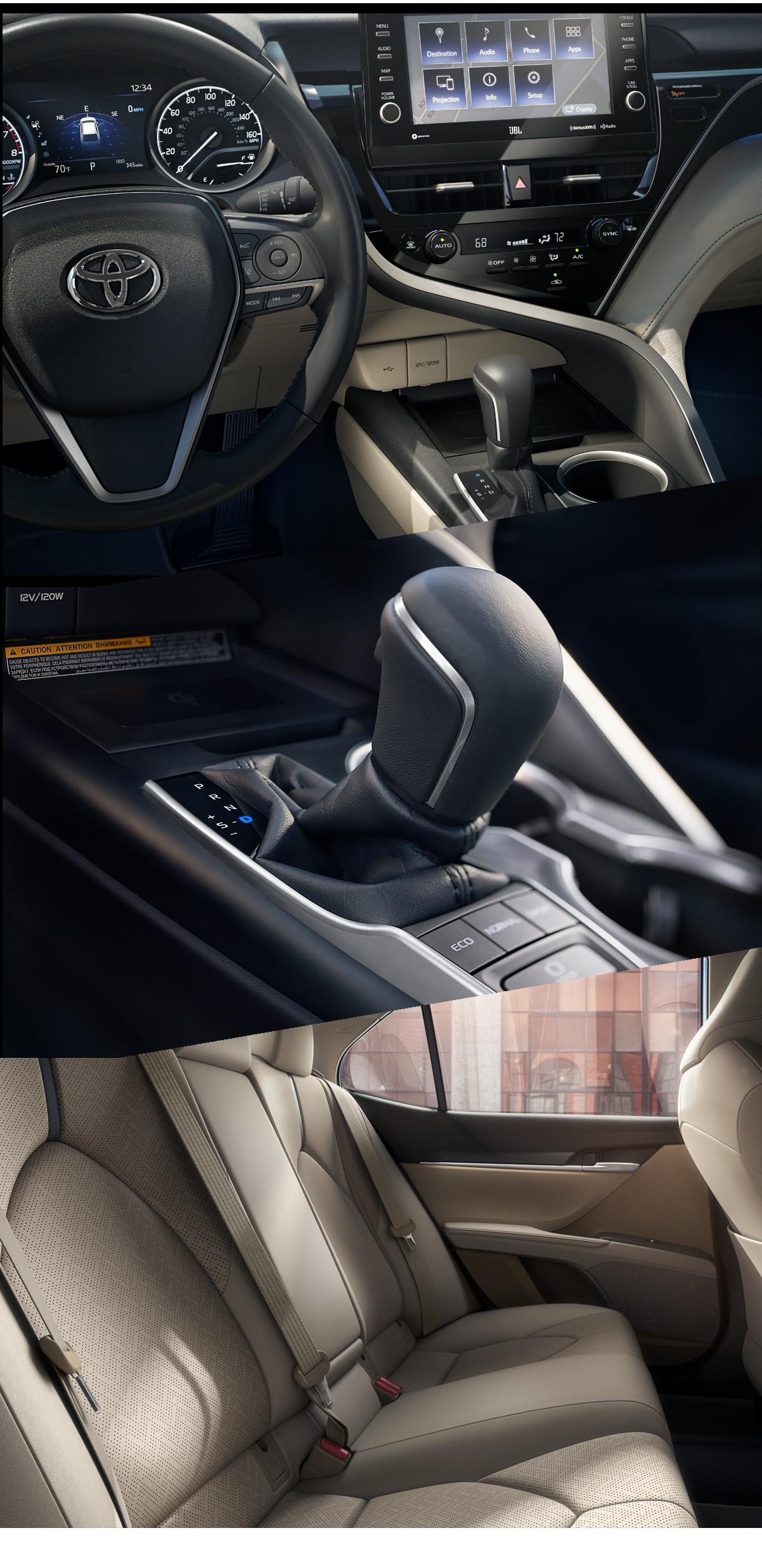 2021 Toyota Camry Interior