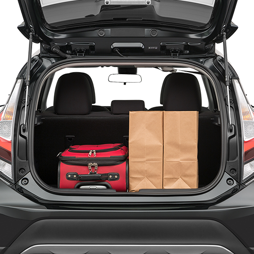 Prius Trunk space