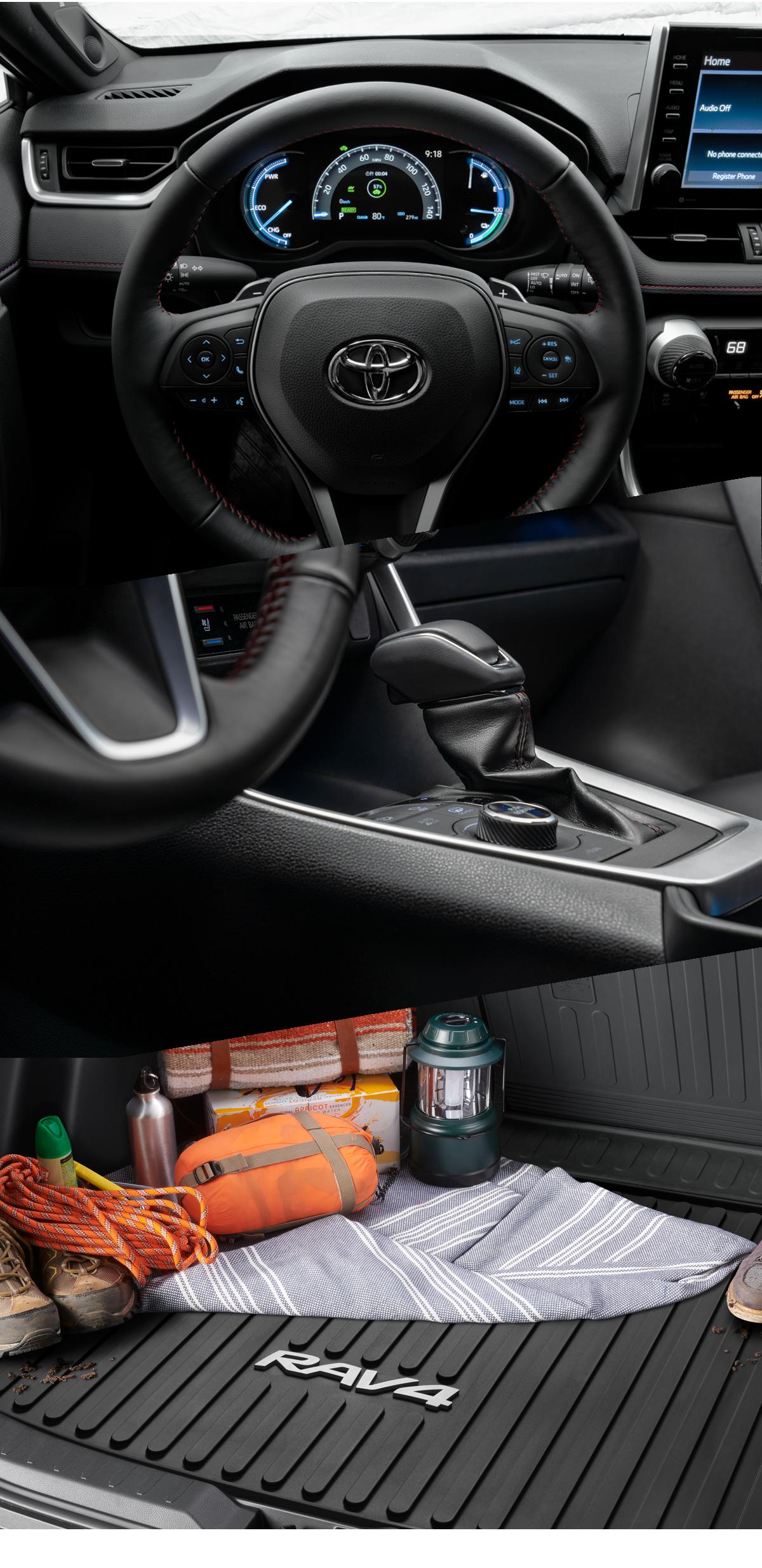 2021 Toyota RAV$ Interior
