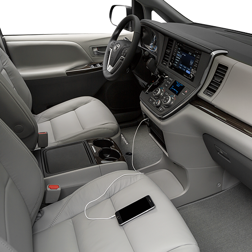 2019 Toyota Sienna Technology Features