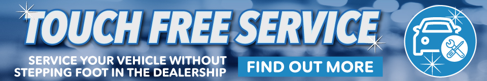 Touch Free Service at Honda of Fayetteville. Service your vehicle without stepping foot in the dealership. Click to find out more.