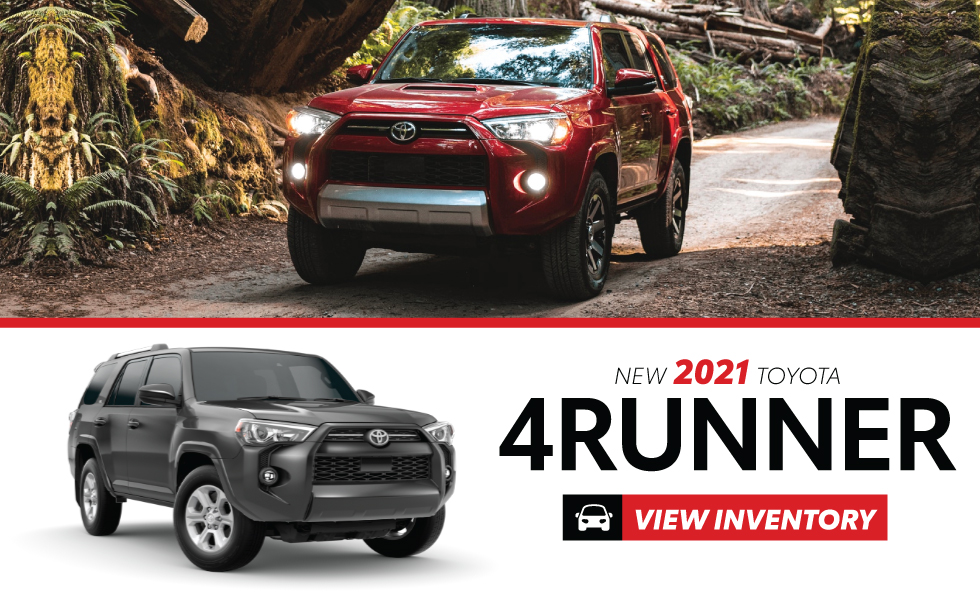 Toyota 4Runner Specials at Warrenton Toyota Warrenton, VA